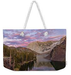 Lake Ellery  Weekender Tote Bag by Jonathan Nguyen