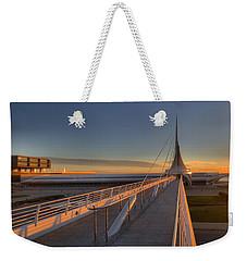 Lake Front View Weekender Tote Bag