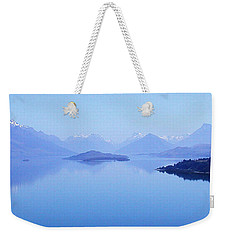 Lake Glenorchy New Zealand Weekender Tote Bag by Ann Lauwers