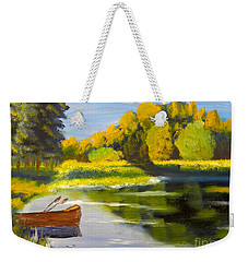 Lake Illawarra At Primbee Weekender Tote Bag