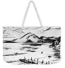Lake In Guatemala Weekender Tote Bag