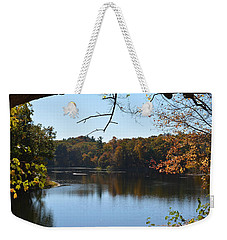 Lake In The Catskills Weekender Tote Bag