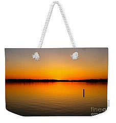 Lake Independence Sunset Weekender Tote Bag