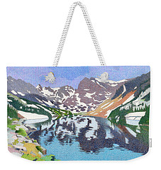Lake Isabelle Colorado Weekender Tote Bag by Dan Miller