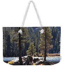 Lake Island Weekender Tote Bag