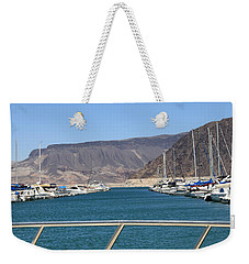 Lake Mead From The Marina Weekender Tote Bag
