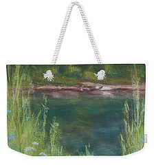 Lake Medina Weekender Tote Bag