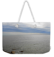 Lake Michigan 3 Weekender Tote Bag