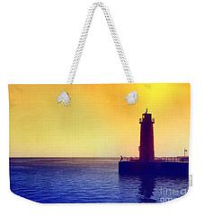 Lake Michigan Weekender Tote Bag by Erika Weber