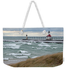 Lake Michigan Winds Weekender Tote Bag