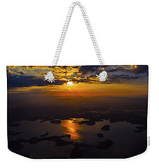 Lake Norman Sunrise Weekender Tote Bag