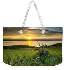 Lake Oahe Sunset Weekender Tote Bag
