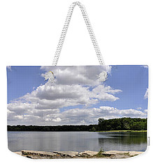 Weekender Tote Bag featuring the photograph Lake Of Dreams by Verana Stark