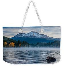 Lake Siskiyou Morning Weekender Tote Bag