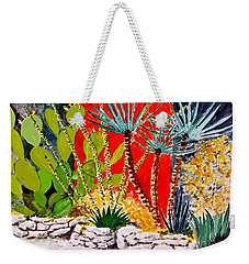 Lake Travis Cactus Garden Weekender Tote Bag