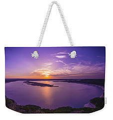Lake Travis Sunset Weekender Tote Bag
