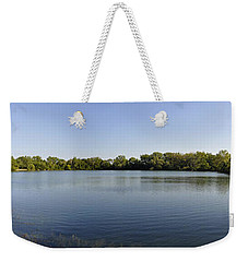 Weekender Tote Bag featuring the photograph Lake Victory by Verana Stark