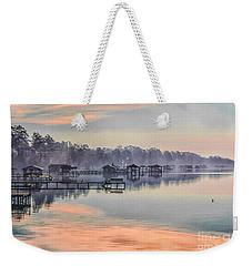 Lake Waccamaw Morning Weekender Tote Bag