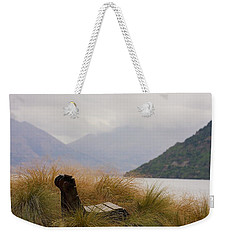 Lake Wakatipu Bench Weekender Tote Bag