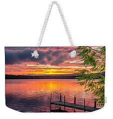 Lake Winnisquam Sunrise 2 Weekender Tote Bag