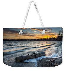 Lake Yankton Minnesota Weekender Tote Bag