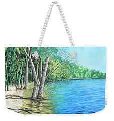 Lakeland 2 Weekender Tote Bag by Jeanne Fischer