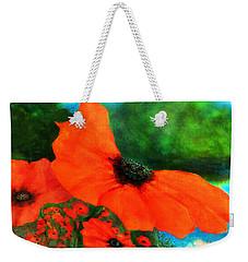Lakeside Bloom Weekender Tote Bag