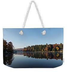 Lakeside Cottage Living - Peaceful Morning Mirror Weekender Tote Bag