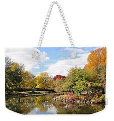 Lakeside Park Weekender Tote Bag by Tiffany Erdman