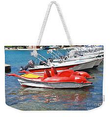 Lakka Harbour Paxos Weekender Tote Bag