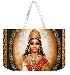 Lakshmi Goddess Of Abundance Weekender Tote Bag