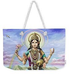 Lakshmi Goddess Of Fortune Weekender Tote Bag