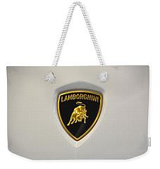 Lamborghini Badge Weekender Tote Bag