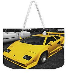 Lamborghini Countach Weekender Tote Bag