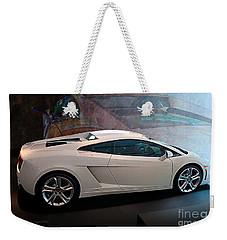 Lamborghini Gallardo Lp550-2 Side View Weekender Tote Bag