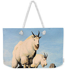 Lamoille Goats Weekender Tote Bag