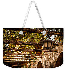 Lamps At The Alamo Weekender Tote Bag by Melinda Ledsome