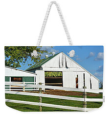 Lancaster County Tobacco Barn Weekender Tote Bag