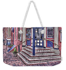 Weekender Tote Bag featuring the photograph Lancaster Pensylvania by Jim Thompson
