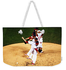 Lance Lynn Pitches Weekender Tote Bag