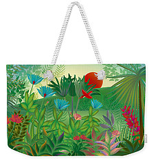 Land Of Flowers - Limited Edition 2 Of 15 Weekender Tote Bag by Gabriela Delgado