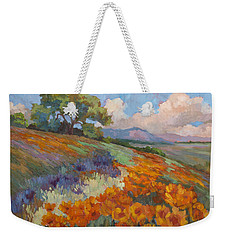 Land Of Sunshine Weekender Tote Bag by Diane McClary