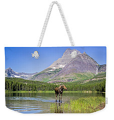 Land Of The Moose Weekender Tote Bag