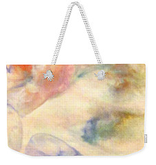 Weekender Tote Bag featuring the painting Landscape 3 by Mike Breau