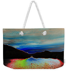 Weekender Tote Bag featuring the photograph Landscape Abstract by Mike Breau