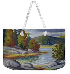 Landscape From Finland Weekender Tote Bag