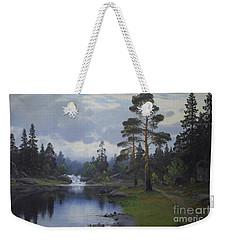 Landscape From Norway Weekender Tote Bag