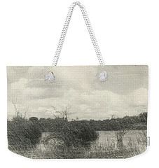 Landscape In Patches Weekender Tote Bag