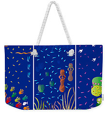 Landscapes With Women - Limited Edition 1 Of 20 Weekender Tote Bag by Gabriela Delgado