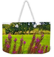 Lanna Fireweeds County Clare Ireland Weekender Tote Bag